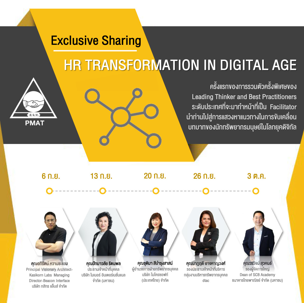 "ÊÑÁÁ¹Ò ""Exclusive Sharing: HR TRANSFORMATION IN DIGITAL AGE"""